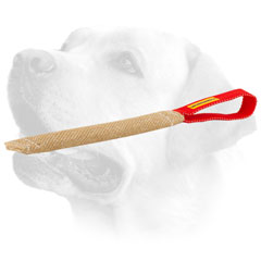 Jute Dog Bite Toy For Labrador Puppy Training