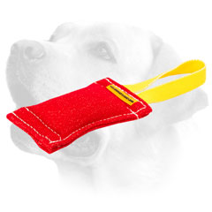French Linen Dog Bite Tug For Labrador Prey Drive Training