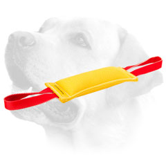 French Linen Dog Bite Tug For Labrador Puppy Training