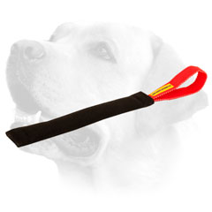 French Linen Labrador Bite Tug For Puppy Training