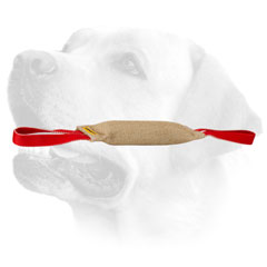 Training Jute Dog Bite Tug For Labrador With Two Handles
