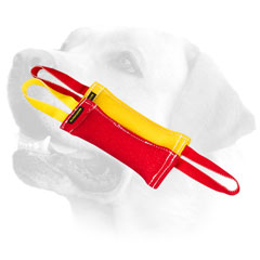 French Linen Dog Bite Tug For Labrador