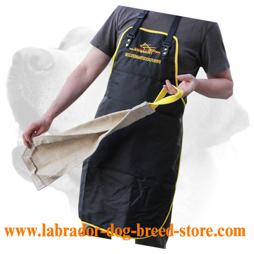 Multifunctional jute bite rag for Labrador