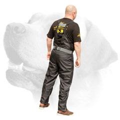 Nylon scratch pants     for safe Labrador training