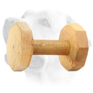 Strong Wooden Labrador Training Dumbell - 1000 g