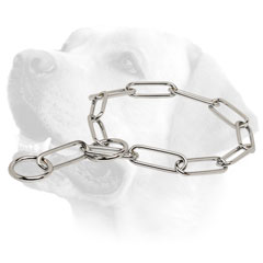 Labrador Stainless Steel Dog Fur Saver Collar