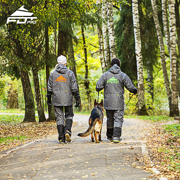 FDT Pro Dog Training Jacket of Top Notch for Any Weather Use