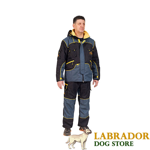 Water Resistant Protection Suit for Dog Training