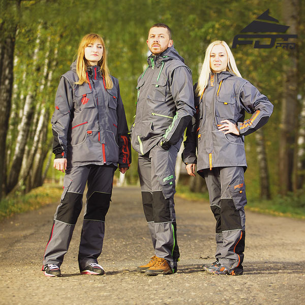 Reliable Dog Training Suit for Any Weather Use