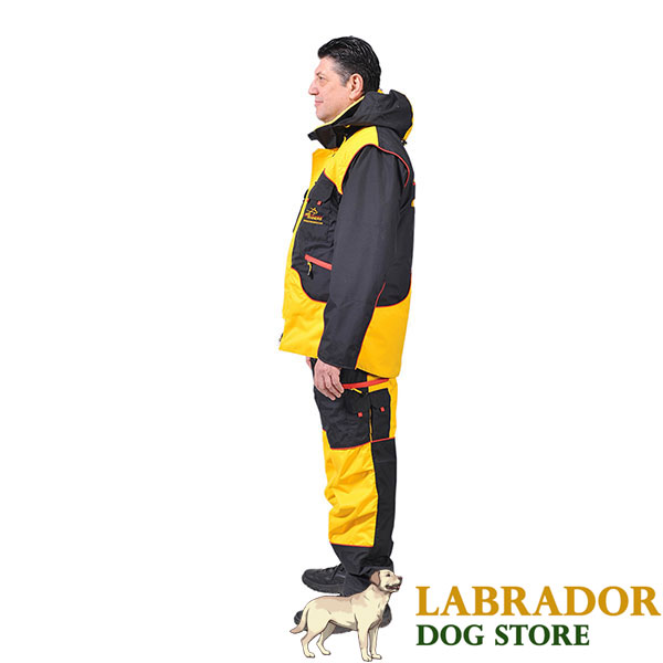 Ultimate in Comfort and Protection Dog Training Suit for Training