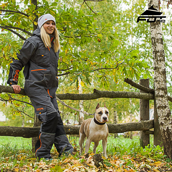 Comfortable Back Pockets on Unisex Design Pants for Active Dog Training