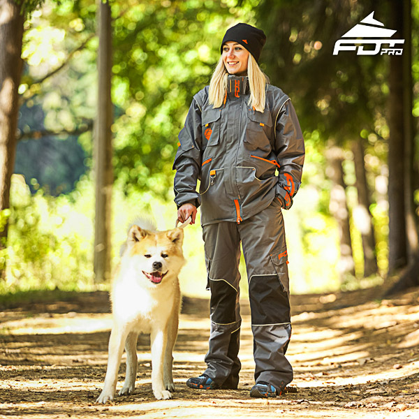 Men / Women Design Dog Training Jacket of High Quality Materials