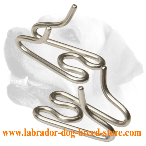 Extra Links for Stainless Steel Prong/Pinch Collar 50004 (55) 1/8 inch (3.25 mm)