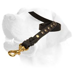 Strong Leather Everyday Labrador Dog Lead